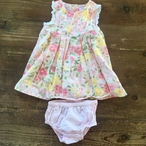 Gymboree lovely shabby chic floral dress